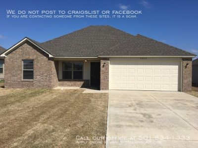 3820 Remington Drive, Jonesboro AR 72401 - Bridlewood Community 3br 2ba new construction