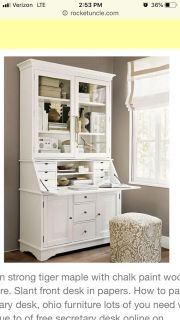 ISO Pottery Barn Graham desk and hutch