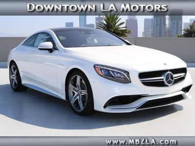 2017 Mercedes-Benz S-Class AMG S 63 (designo Diamond White Metallic)