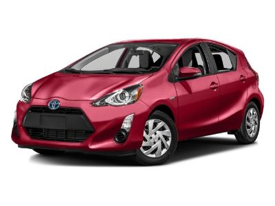 2016 Toyota Prius c One (Black Sand Pearl)