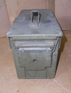 Military Ammo Box Metal
