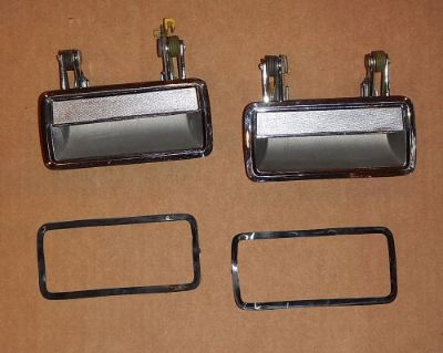 Buy 1985-89 Lincoln Town Car OEM Chrome Door Handle Pair (LH + RH) motorcycle in Glenview, Illinois, United States, for US $39.99