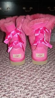Hot pink uggs