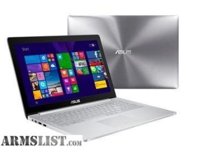 For Sale/Trade: High End ASUS ZenBook Pro Touchscreen Gaming Laptop