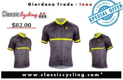 "Giordana Trade ""Inox"" Vero Short Sleeve Jersey 