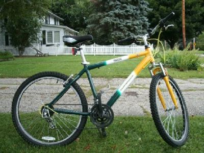 Green Bay Packer bicycle