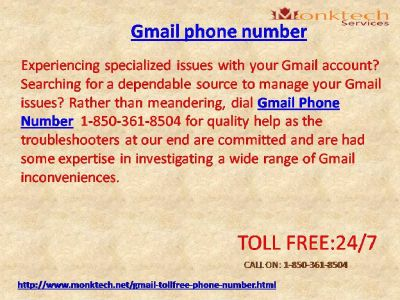 Arrange of issues with Gmail signal like ne'er before 1-850-316-4893