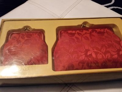 2 new coin purses