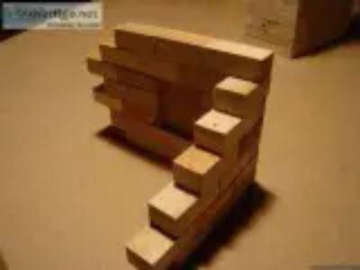 Adult wood building blocks