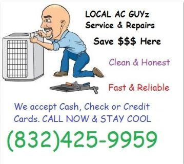 HVACAir Conditioner Cooling ProAC Service
