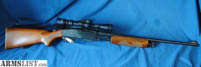 "For Sale: Remington 760 Gamemaster, 30-06, 22"", w/scope # D814"