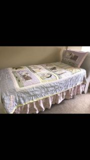 4 piece shabby chic bed set