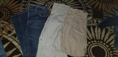 Jean's capris and shorts size 10