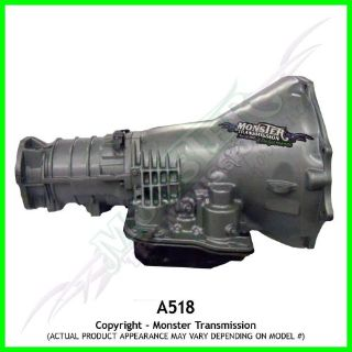 Sell Monster Transmission - Dodge A518 HD Automatic Transmission 2WD | Up to 500H.P. motorcycle in Brooksville, Florida, United States, for US $1,994.49