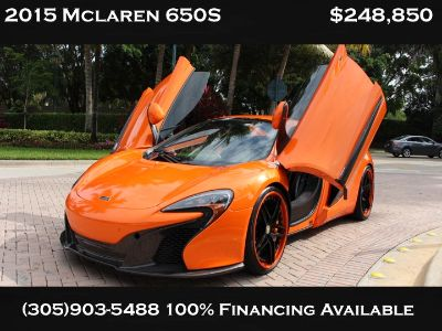 ** 2015 MCLAREN 650S SPIDER LIKE NEW **