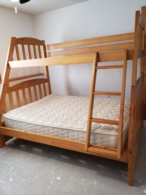 Wood Bunk Bed Frame
