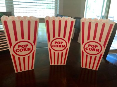 Popcorn Containers, 3 total