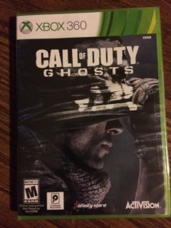 Xbox 360 call of duty ghosts UNOPENED