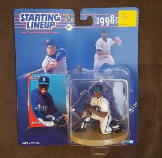 *** KEN GRIFFEY JR. 1998 Starting Lineup Collectible Figurine ***
