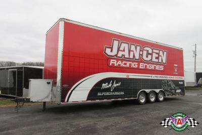 2005 Renegade 32' Stacker Race Trailer