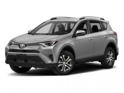 2018 Toyota RAV4 LE (Red)