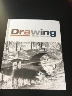 Drawing styles & techniques book