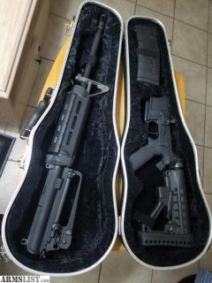 For Sale/Trade: Custom AR 15 with Violin Case - Rock River Lower - PSA Upper - Never Fired