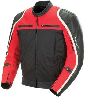 Purchase Joe Rocket Comet Street Motorcycle Jacket Red Black Size XX-Large motorcycle in South Houston, Texas, US, for US $193.49