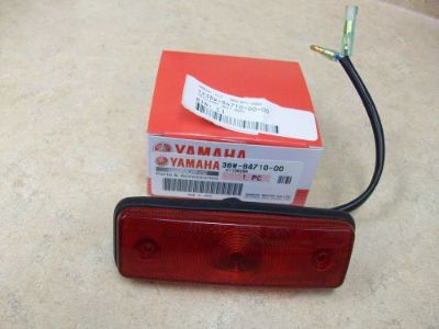 Purchase NEW OEM REAR TAILLIGHT TAIL LIGHT ASSEMBLY YAMAHA WARRIOR YFM 350 1987-2000 2001 motorcycle in Ellington, Connecticut, United States, for US $42.00