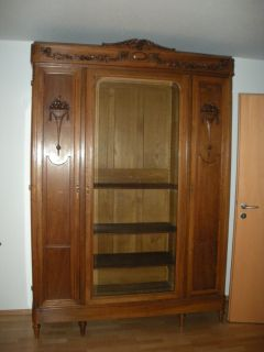 Louis XV Book Case - in excellent condition. Must have tall ceilings.