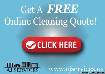 Request your free online cleaning quote today!