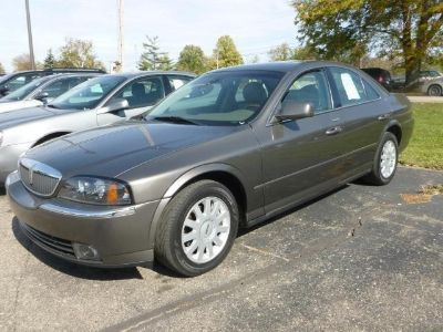 2004 Lincoln LS Luxury (Light French Silk Clearcoat Metallic)