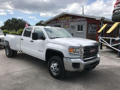 2016 GMC Sierra 3500 (White)
