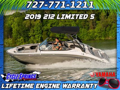 2019 Yamaha 212 Limited S Jet Boats Clearwater, FL