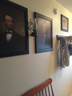 2 colonial presidents pictures