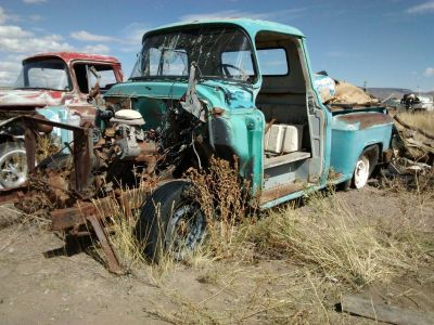 1956 Chevy Half Ton 3100 Pickup - Rat Rod Project