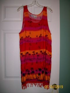 """""""Beach Cabana"""" Bathing Suit Cover-up"""