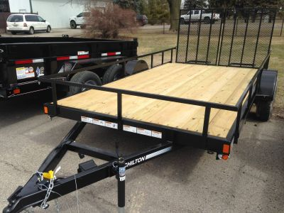 2018 Chilton HH5000R-BT 14' Equipment Trailer Trailers Elkhorn, WI
