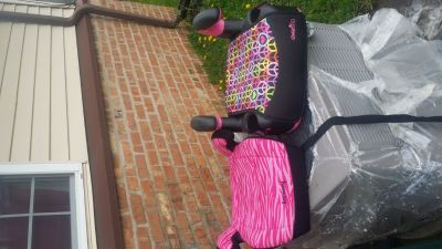 Girls booster seats Evenflo and Harmony