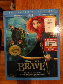Disney Brave with DVD AND Blu-Ray