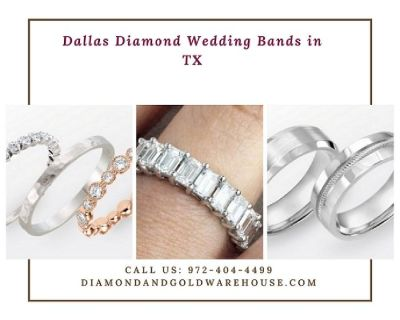 Wedding Rings for Women and Men in Dallas, TX
