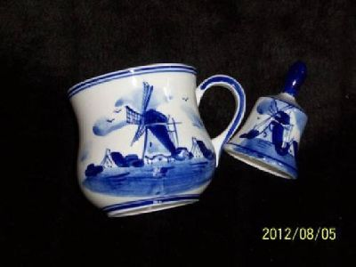 $29 Dutch Cup and Bell, Mint Condition