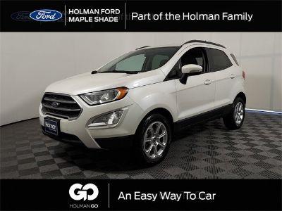 2019 Ford EcoSport SE (White Platinum)