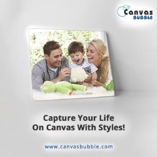 Canvas Bubble - Best Online Canvas Printing Company in USA, to Capture Memories on Canvas