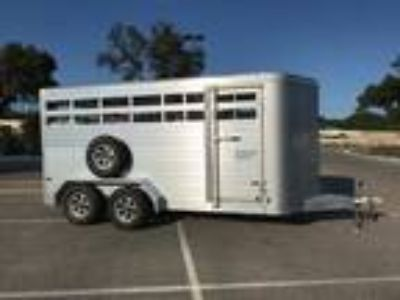 2019 Sundowner Trailers 16' Stockman Bumper Stock