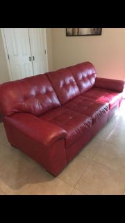 Free Red couches