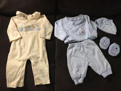 Newborn Outfit Lot
