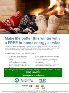 FREE energy audit - SCG or CNG customers - we pay your copay!!