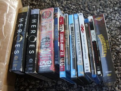8 blu-rays & 4 seasons dvds