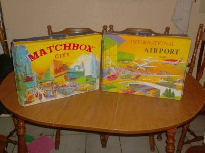 vintage matchbox toy cases
